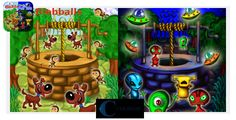 Wellwater / Wellwater Alien - iPhone game, Cocos2d . Wellwater:Get water from the well as fast as you can and contest with your friends in the Game Center. Dogs and bees will disturb you and waste your