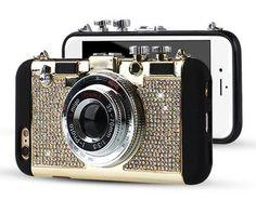 Retro Camera Soft Phone Case For iPhone 6 6S Plus 5 5S