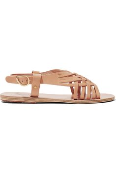 Shop on-sale Ancient Greek Sandals Maria leather sandals. Browse other discount designer Sandals & more on The Most Fashionable Fashion Outlet, THE OUTNET.COM
