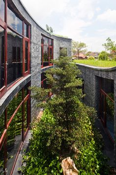 Stone House by Vo Trong Nghia Architects | HomeDSGN, a daily source for inspiration and fresh ideas on interior design and home decoration.
