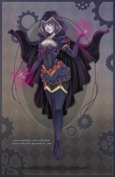 Raven by NoFlutter.deviantart.com on @DeviantArt - More at https://pinterest.com/supergirlsart/
