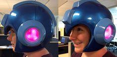 ¡Actualidad! ¿Sabías que #Capcom será el encargado de fabricar el #casco de #Megaman?