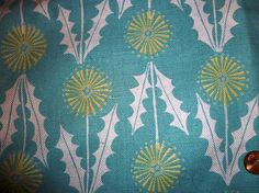 molasses candy: vintage dandelion fabric (not available in this color)