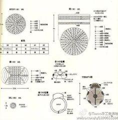 Crochet Ladybug Κeyring + Diagrams + Free Pattern Step By Step