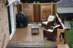 Patio Deck-Art Designs®TREX - contemporary - porch - montreal - Patio Deck-Art Designs