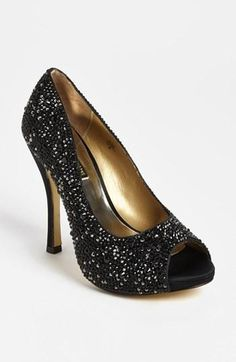 Black sparkly shoes!