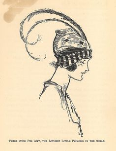 'Peg Amy' from 'Kabumpo in Oz' (1922), one in a series continuing on from Frank L. Baum's OZ books, written by Ruth Plumly Thompson and illustrated by John R. Neill (12/11/1877-13/9/1943)