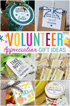 Volunteer Gifts - Say Thanks with these National Volunteer Week Ideas