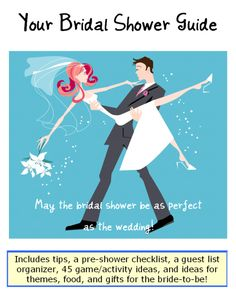 Bridal Shower Planner Packer (pdf) - basically EVERYTHING you need!