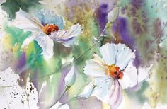 Watercolor by Cathy Quiel by frankie