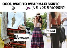 Style your maxi skirt - Oh my Dior - Unicorn Fashion Blog