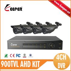 99.56$  Buy here - http://alika1.worldwells.pw/go.php?t=32495479292 - KEEPER 4CH CCTV System DVR  4pcs 900TVL IR Weatherproof Outdoor Metal CCTV Camera  Video Surveillance 4CH DVR Kit