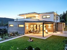 Architect house Image 6765 - Build Container Home Steel Frame House, Casas Containers, Natural Building, Architect House, My Dream Home, Exterior Design, Future House, Building A House, Architecture Design