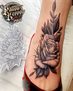 Old Tattoos, Beautiful Roses, Tattoo Studio, Flowers, Florals, Flower, Blossoms