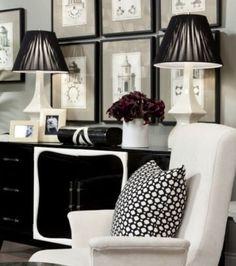 Classic Chic Home: Simply Stunning Black & White Interiors