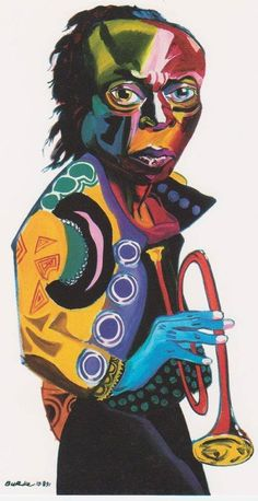 Miles Davis - Jazz on a Sunday Jazz Artists, Jazz Musicians, Jazz Poster, Miles Davis, Jazz Blues, African American Art, Art Music, Music Artwork, Musical
