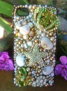 Custom Unique One of a kind iPhone 4/4s case by Kianaskases, $68.00 Can I have this?