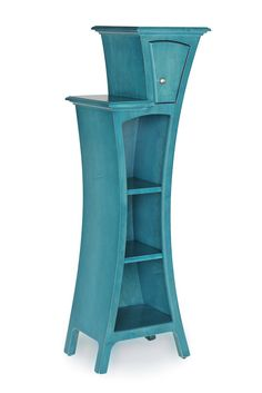 Custom Furniture - Modern Art Furniture - Cabinet No.4 by Dust Furniture* - Stepped Display Cabinet with Door