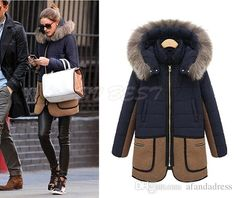 2015 New Parkas Women Autumn Winter Coats Outerwear Cotton Down Fur Thickening Coat Female Overcoat Jacket Plus Size Oxl15091404 From Afandadress, $37.7 | Dhgate.Com