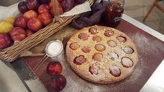James Tanner's plum frangipane tart