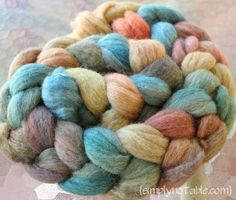 Great craft blog - simplynotable.com. This is the most beautiful naturally dyed fiber I've seen. Blog shows the process.