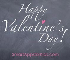 Top 10 Apps for Valentine's Day! http://www.smartappsforkids.com/2014/02/kellis-top-ten-apps-for-valentines-day.html