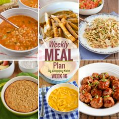 Slimming Eats Weekly Meal Plan - Week 16 Another delicious weekly meal plan all work out for you, all you have to do is cooked and enjoy the food.