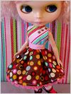 sewing for blythe: Free pattern of Party Dress