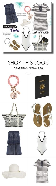 """""""Cuba"""" by jez-alex ❤ liked on Polyvore featuring nikki lissoni, Royce Leather, Billabong, Melissa Odabash, Seafolly, MANGO and Bling Jewelry"""