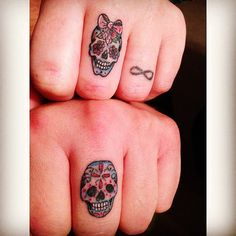His and Hers Skulls
