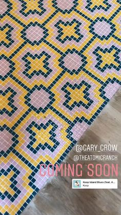#PalmSpringsStyle 🌴☀😍 Proyecto de @gary_crow inspirado en el #MidCenturyModern Revestimiento principal: Diseños #PalmSpringsHisbalit : MECCA y HEMET 1 | Mosaico Hisbalit