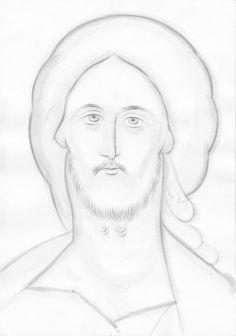 Frescele lui Alexandru Soldatov (Partea a Jesus Drawings, Byzantine Icons, Orthodox Icons, Fresco, Icon Design, Workshop, My Arts, Album, Blog