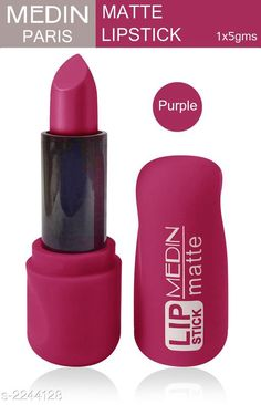 Checkout this latest Lipsticks Product Name: *Medin Premium Choice Super Matte Lipstick * Product Name: Medin Premium Choice Super Matte Lipstick  Brand Name: Medin Paris Finish: Matte Type: Stick Multipack: 1 Country of Origin: India Easy Returns Available In Case Of Any Issue   Catalog Rating: ★4 (472)  Catalog Name: Medin Paris Matte Lipstick Vol 3 CatalogID_298572 C171-SC2005 Code: 251-2244128-252