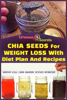 health fitness - Chia Seeds For Weight Loss With Diet Plan And Recipes Woman Secrets Weight Loss Meals, Best Weight Loss, Losing Weight, Weight Loss Before, Weight Gain, Keto Diet Plan, Ketogenic Diet, Diet Plans, Full Body Detox