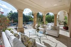 This 24,000 square foot estate is an example of Beverly Hills' finest. Enter the main level and you'll be surrounded by 20 feet high domed ceiling, Carrara marble floors, and a grand double-staircase. Among many other spectacular features, the home boasts a paneled library, formal dining room with coffered ceilings and a gourmet kitchen with …