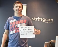 Jason McDonald Account Manager Stringcan Interactive