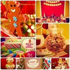 Gingerbread Party #gingerbread #party