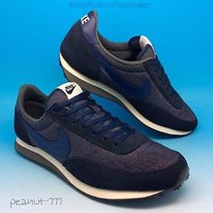 c82c50584b08d0 Mens-Nike-Elite-Waffle-Trainers-Blue-sz-7-5-Denim-LTD-Sneakers-US-8-5-EU-42