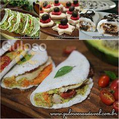 Mas afinal, a tapioca engorda ou emagrece? A tapioca é uma alternativa saudável e nutritiva para quem quer perder peso... Motivos para Incluir a Tapioca na Dieta (16 receitas)  #Receitas aqui: http://www.gulosoesaudavel.com.br/2015/03/30/motivos-para-incluir-tapioca-dieta/