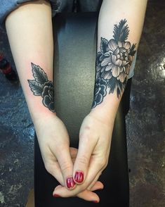 From last week! Inner wrist roses not by me just reworked. Thanks again Dianna by agracie