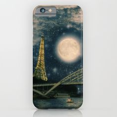 One Starry Night in Paris  iphone 6 Case
