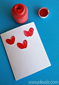 Fingerprint Flower Mother's Day Card - Sassy Dealz