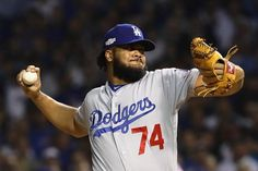65. Kenley Jansen  -  Kenley Geronimo Jansen is a Curaçaoan professional baseball pitcher for the Los Angeles Dodgers of Major League Baseball. He has played for the Dodgers since his MLB debut in 2010. He appeared in the MLB All-Star Game in 2016.