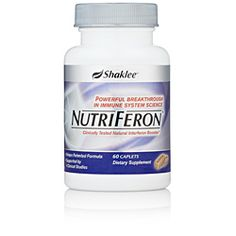 NutriFeron. Scientists and medical communities have identified interferon as being crucial to healthy immune function.  NutriFeron is an exclusive, patented formula, which provides a proprietary blend of four plant extracts designed to naturally increase levels of interferon and provide immune support at the cellular level.