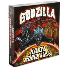 ThinkGeek :: Godzilla Kaiju World Wars Board Game