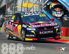 Craig Lowndes voted best driver of the super car era. V8 Cars, Race Cars, Nascar, Monster Truck Jam, Australian V8 Supercars, Stock Car, The Great Race, Drag Racing, Rally