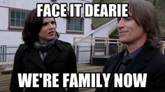 Hahaha, sooner or later, all of Storybrooke is going to be related to each other if this keeps happening...