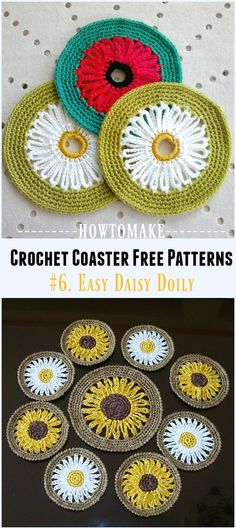 Crochet Easy Daisy D