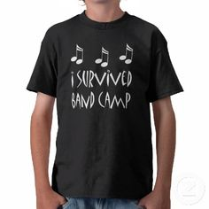 band camp t shirts | survived band camp funny music design for the drum major or band ...
