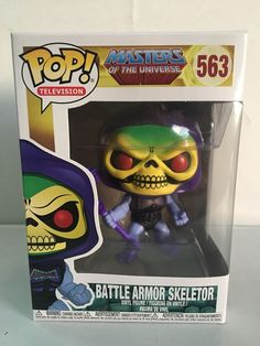 Funko POP! Television Masters of the Universe BATTLE ARMOR SKELETOR 563 New | eBay